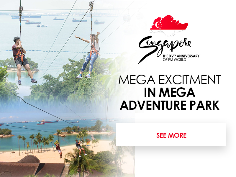 Mega excitement in Mega Adventure Park