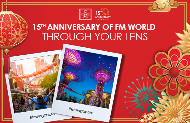 15th Anniversary of FM WORLD through your lens!